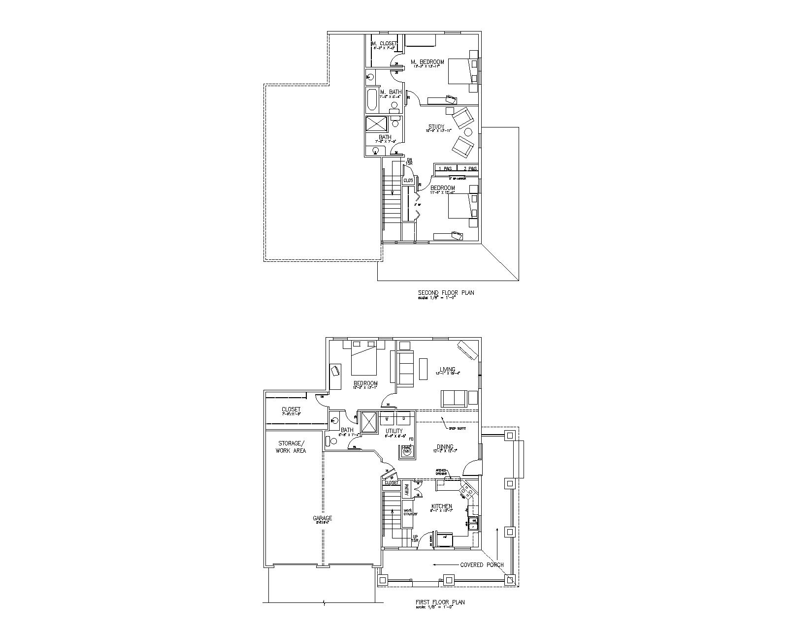 Bear creek prairie homes at bear creek prairie for 1 story cottage floor plans